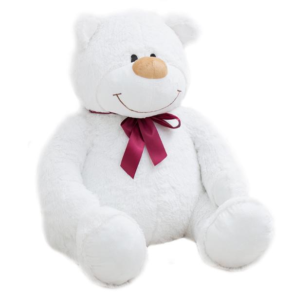 Медведь Аркадий большой белый
