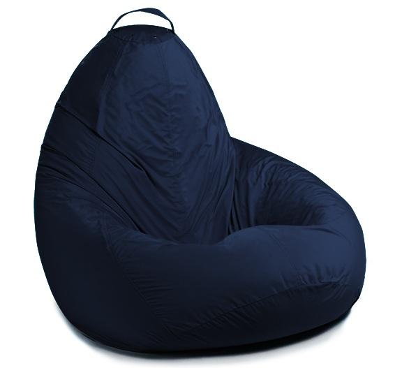 Кресло Груша синее купить в Самаре