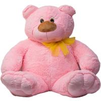 Медведь Топтышка большой розовый